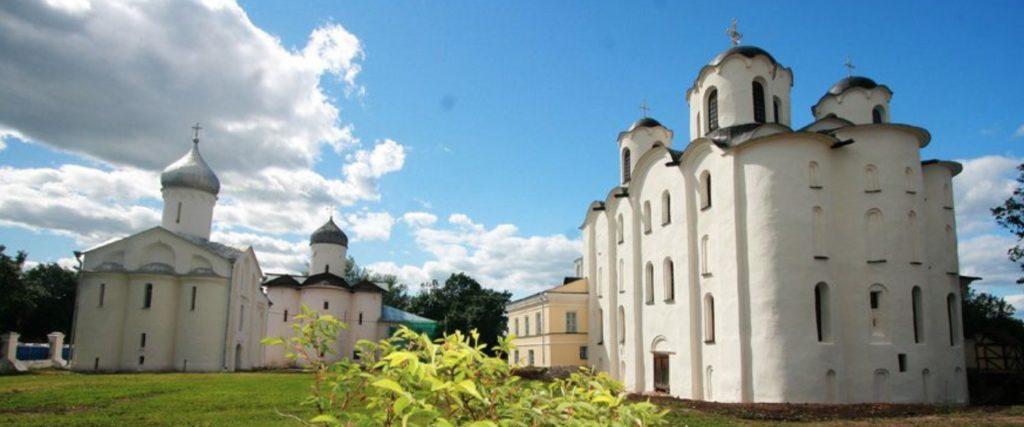 Les cathedrales de Novgorod