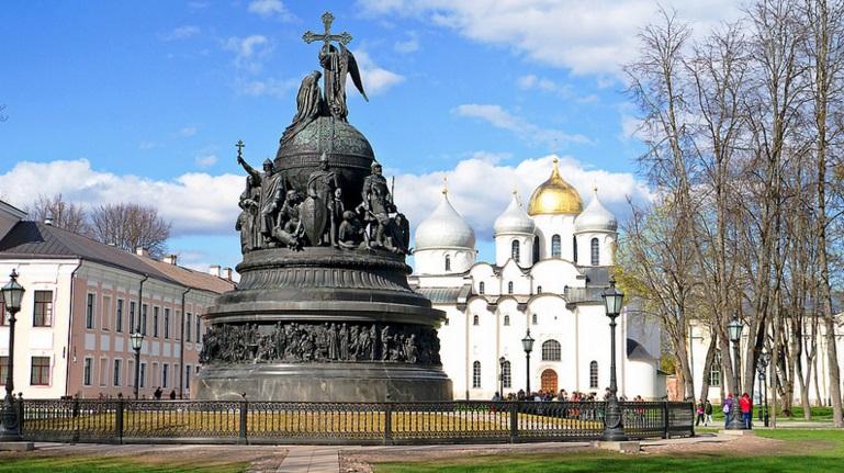monument du millenaire de la russie