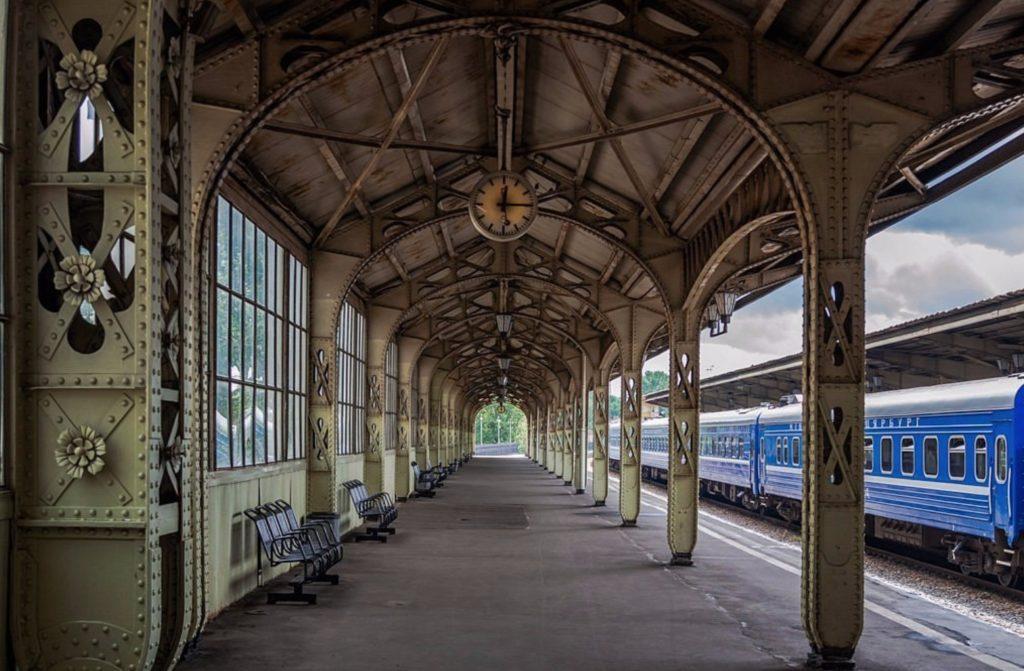 la gare à saint petersbourg