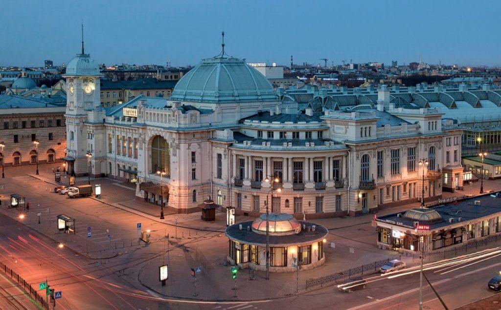 la gare de Vitebsk
