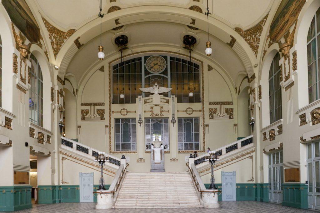 lescalier de la gare vitebsk