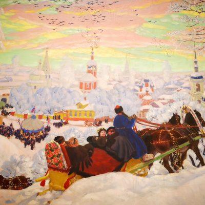 Hiver en Russie dans la peinture