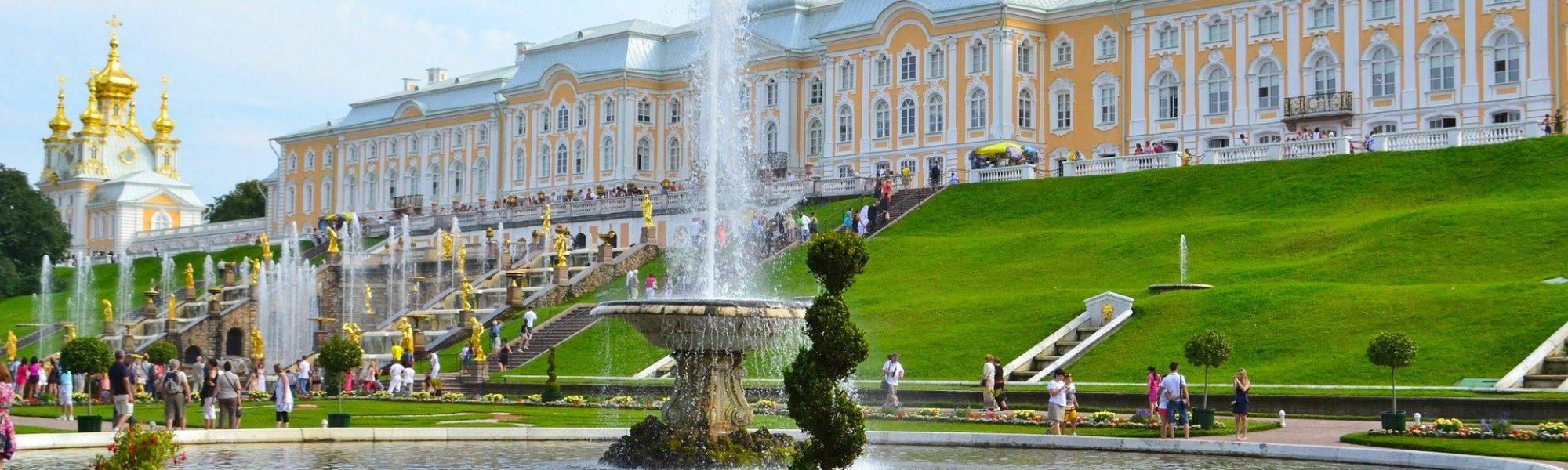 Le grand palais de Peterhof