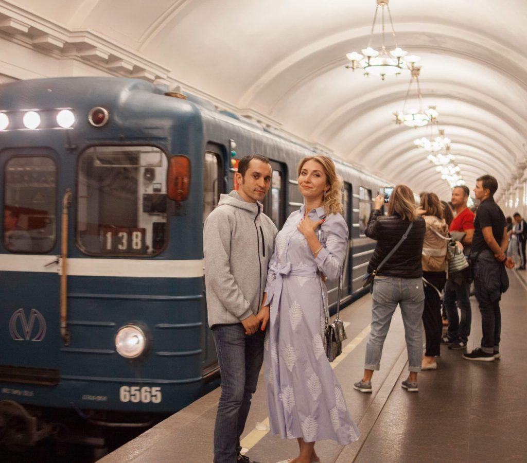 Le metro de Saint-Pétersbourg