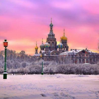 Saint-Sauveur en hiver