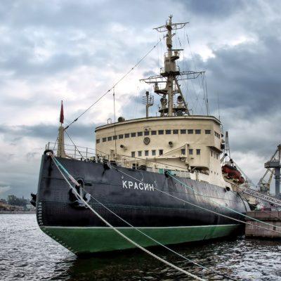 brise-glace à Saint-Pétersbourg