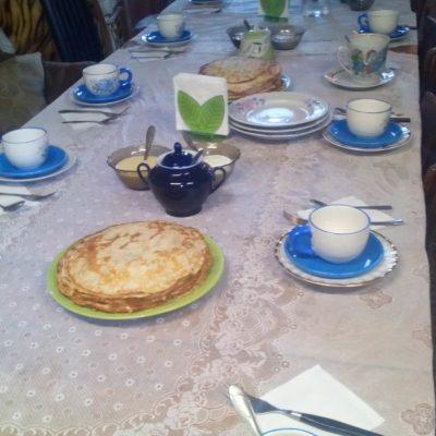 ceremonie de thé russe