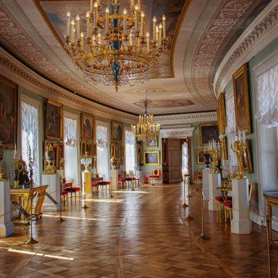 la gallerie de peinture à Pavlovsk
