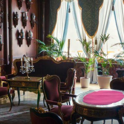 la salle des gobelins au palais Youssoupov
