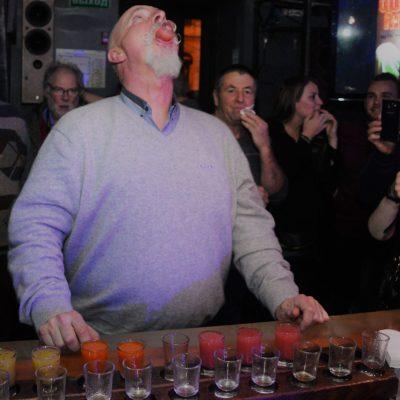 la tournée des bars à Saint-Pétersbourg