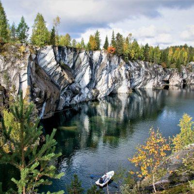 le lac en Carélie