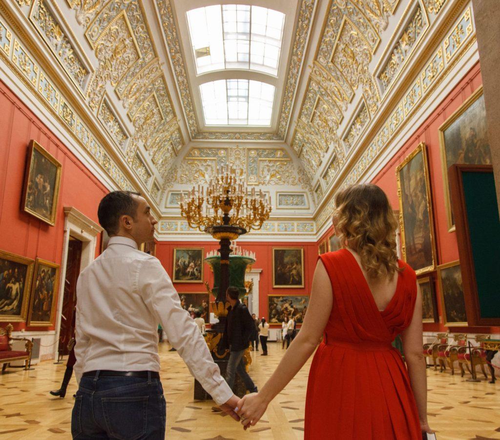 La salle du Nouvel Ermitage