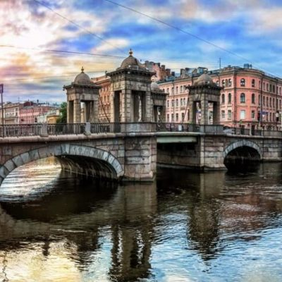 le pont lomonossov