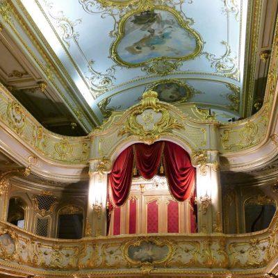 le theatre dans le palais Youssoupov