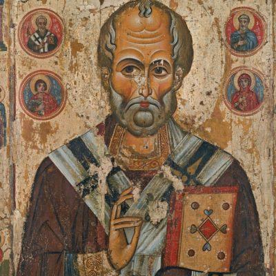 les icones russes, saint nicolas