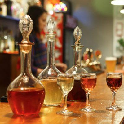 les liqueurs en russie