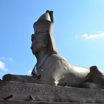 les sphinx de Saint-Pétersbourg