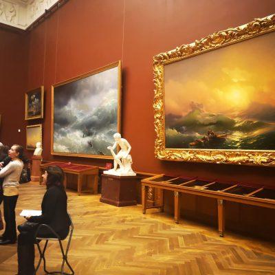l'intérieur du musée russe