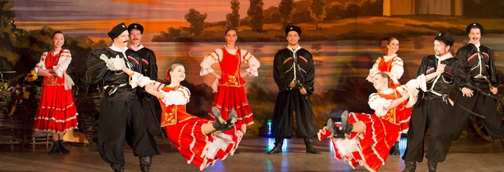 spectacle des cosaques