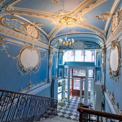 style baroque à Saint-Pétersbourg